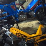 Motobecane frame with Morini Motor